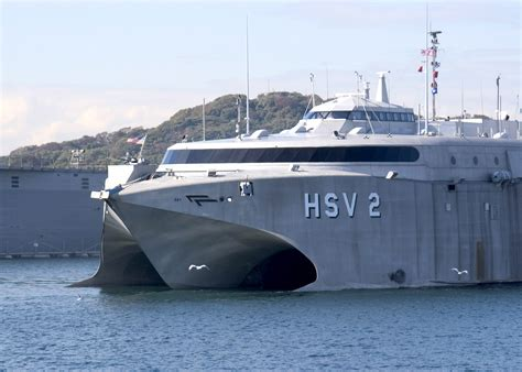 catamaran aircraft carrier wiki file us navy 061121 n 2716p 002 u s navy high speed