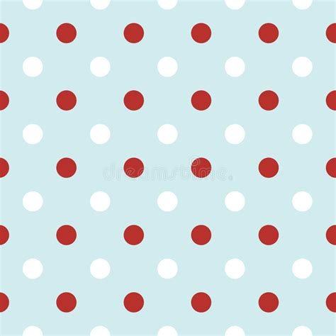 retro polka dot pattern vector by heizel on vectorstock christmas retro background with polka dots in red royalty