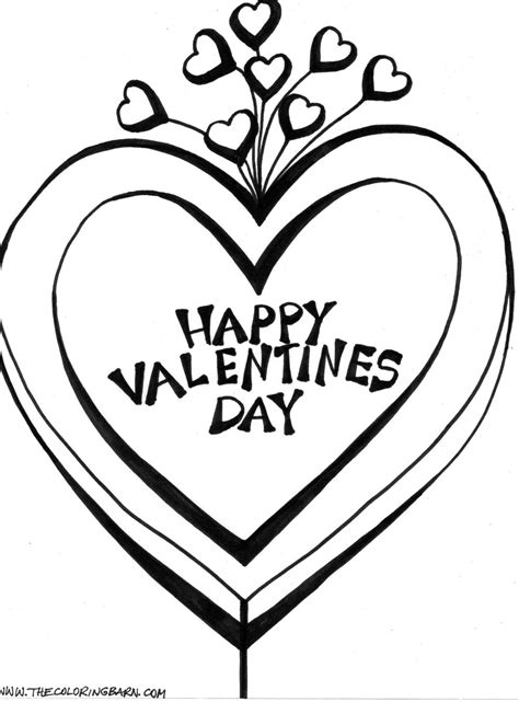 valentines day coloring pictures valentines day coloring pictures