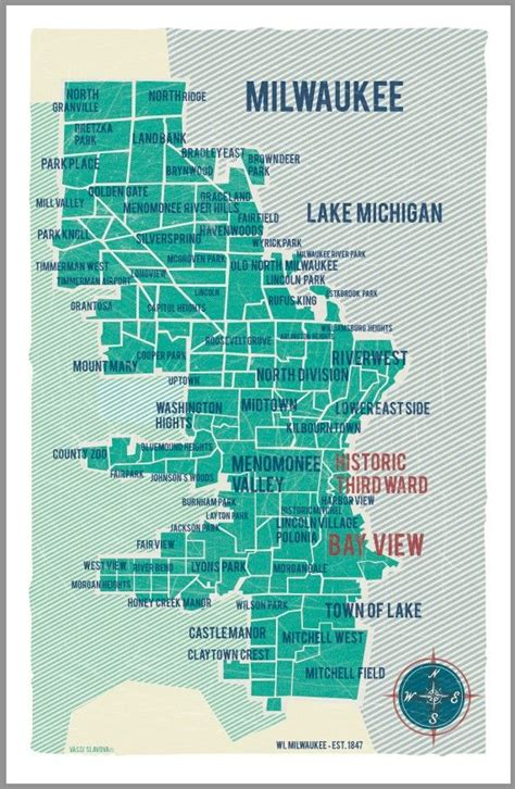 maps milwaukee 22 simple map of milwaukee suburbs afputra