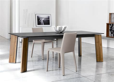 modern dining table with bench image gallery modern dining table