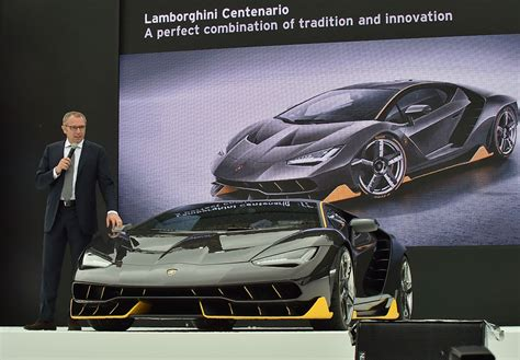 lamborghini ceo worth a special lamborghini is planned for the founder s