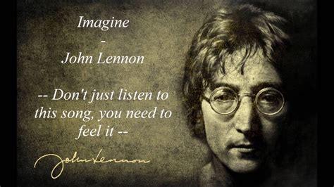 Imagine Lennon The Beatles imagine lennon www pixshark images galleries
