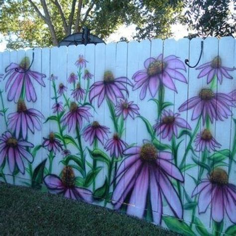 painting backyard fence 15 best images about painting on a fence on pinterest