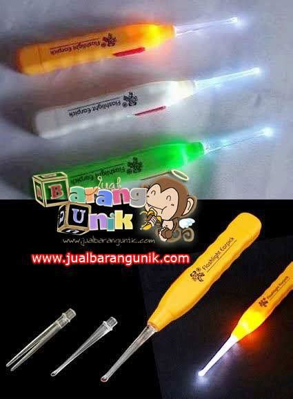 Korek Kuping Senter Nyala Earpick Flash Light Grosir Reseller grosir earpick with light korek kuping lu earpick