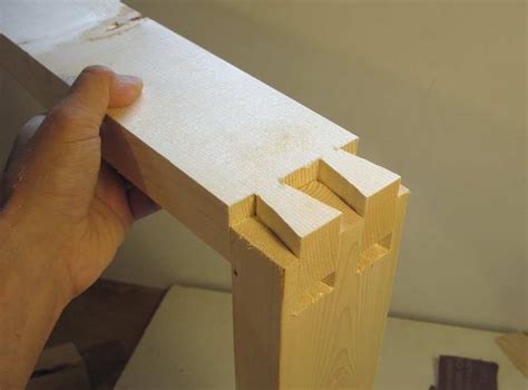 dovetail joints   bandsaw