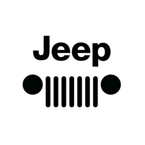 jeep grill silhouette image for jeep grill logo jeep mudding outdoors