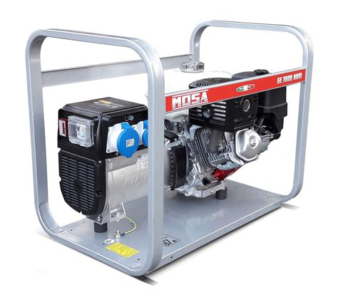 mosa ge 7000 hbm 6 7 kva single phase petrol generator