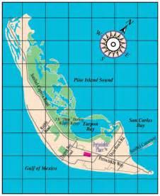 sanibel island map free printable maps