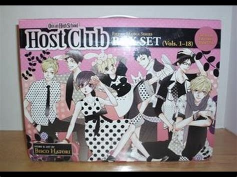 ouran high school host club box set vol 1 18 ouran high school host club complete box set 1 18