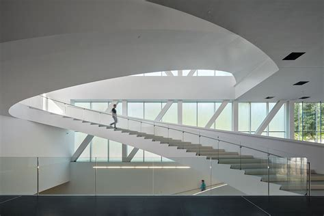 Pavillon Lassonde by The Lassonde Pavilion By Oma Opens Its Doors Today