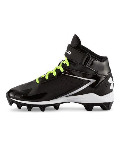 football shoes armour boys armour crusher rm jr football cleats