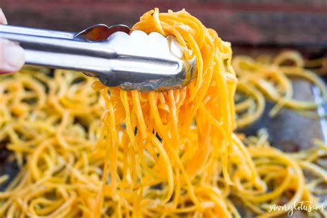 how to make butternut squash noodles savory lotus