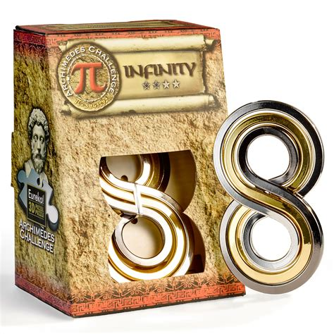 archimedes infinity eureka 3d puzzle archimedes infinity