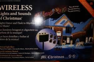 67814 wireless lights and sounds of christmas halloween