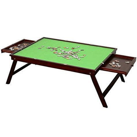 puzzle table with cover wooden jigsaw puzzle table for adults large