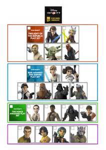Disney Infinity Figures List Disney Infinity 3 0 Checklist Wars Disney Infinity