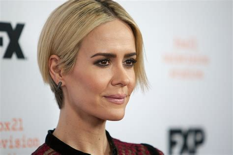 Reporter Hair | sarah paulson had to give herself quot real housewives hair