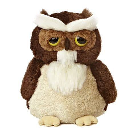 owl stuffed animal smitty the dreamy eyes great horned owl stuffed animal by