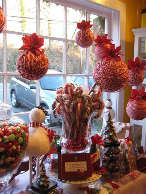 Weihnachtsdeko Fenster Häuser by Sweet Balls With Jar Stick Window