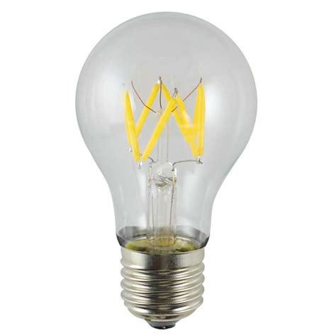 Handmade Light Bulbs - 5watt dimmable glass gls crown a60 led filament light bulb