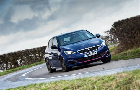 peugeot 308 gti blue peugeot 308 gti review price specs and 0 60 evo