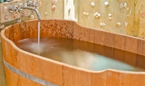 vasca bagno legno vasche da bagno in legno