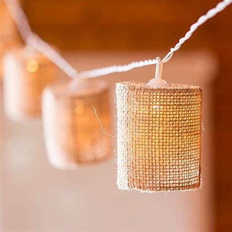 string light shade burlap shade lights burlap string lights shade string lights