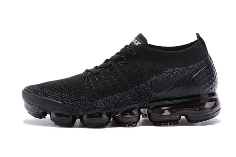 reliable nike air vapormax flyknit  tpu triple black