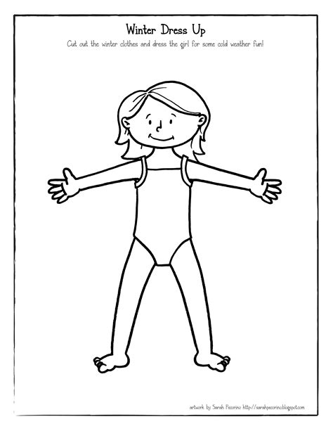 coloring page girl in dress winter dress up girl 1 flickr photo sharing