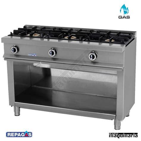cocinas industrial cocina industrial de tres fuegos cg530 con mueble en acero