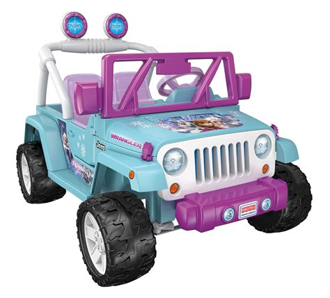 Fisher Price Jeep Fisher Price Disney Frozen Jeep Wrangler Toys