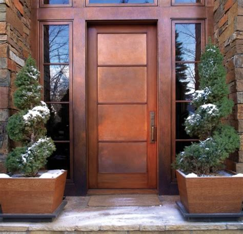 Cooper Door cool copper bringing this gorgeous metal into your home