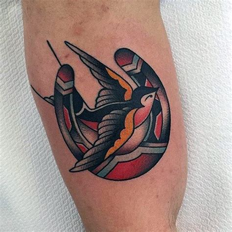 70 traditional swallow tattoo designs for men old