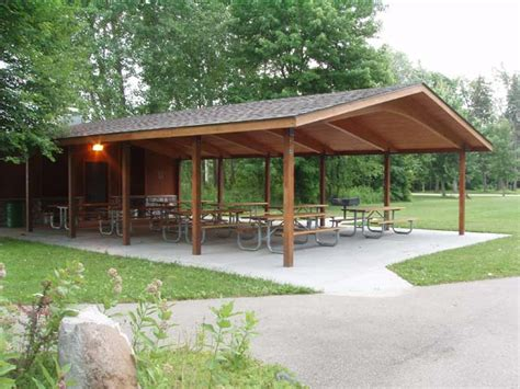 backyard shelter the offices of st clair county parks recreation