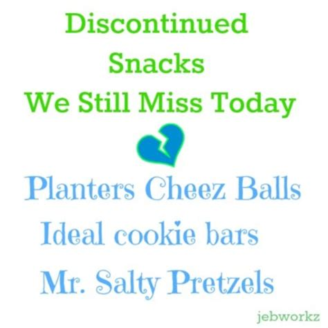 Planters Discontinued Snacks by Discontinued Snacks We Miss Mr Salty Cheez Balls The