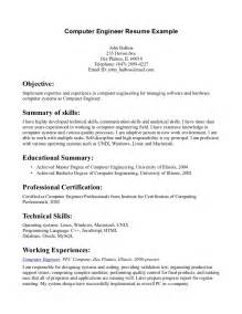 Sample Resume For Computer Engineering Students curriculum vitae samples for computer engineers the perfect dress
