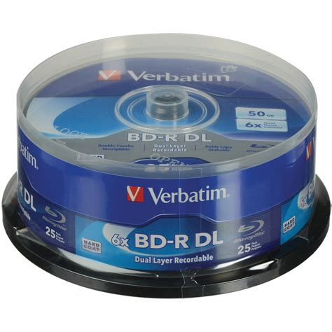 Sale Dvd Rw Verbatim Spindel10 verbatim bd r dl 50gb 6x with branded surface disc