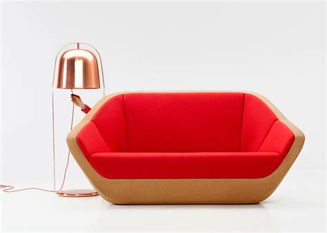Cork Sofa by Cork Sofa Revived From Bottle Cork Leftovers Curvaceous