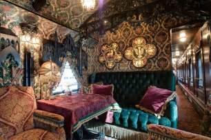 Bernhardt Dining Room architecture bohemian interior design steampunk gothic