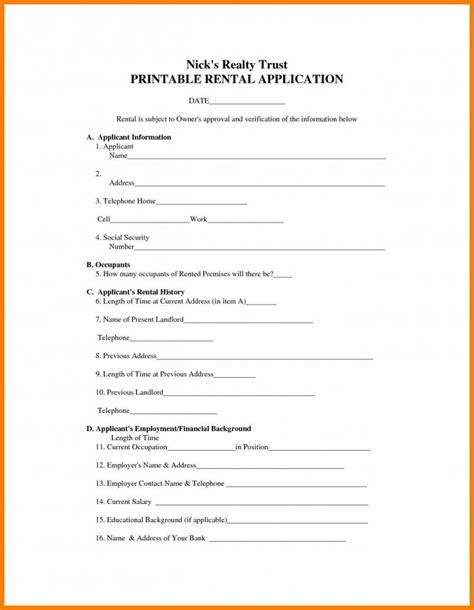 Simple Rental Agreement Resume Trakore Document Templates Rental Resume Template