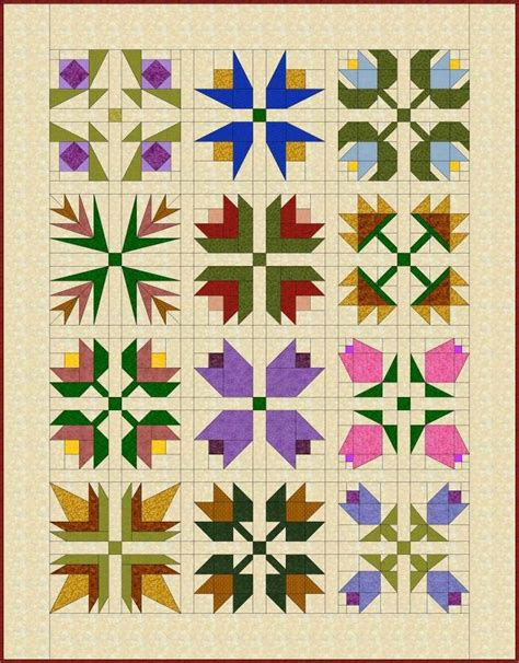 Flower Quilt by 25 Best Ideas About Flower Quilts On Quilts