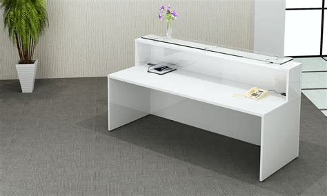 white gloss office furniture white gloss reception desk office furniture centre