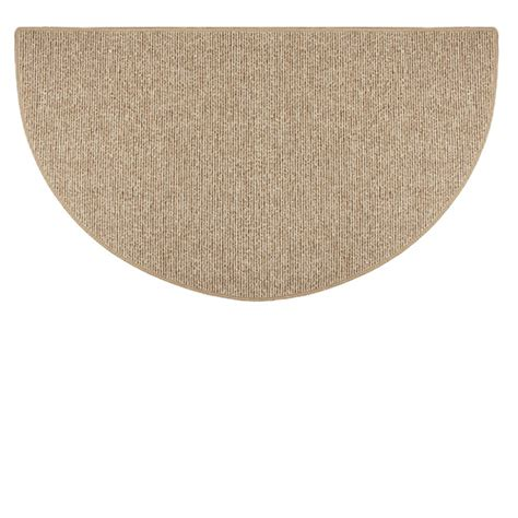 Half Circle Rugs by Goods Of The Woods Sisal Weave Half Hearth