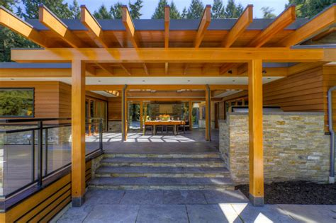 West Coast Patios by West Coast Post And Beam Rancher Patio