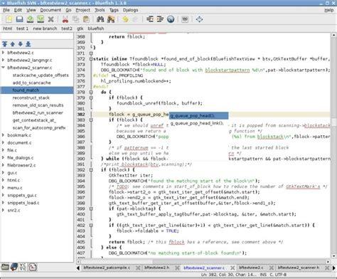bluefish editor design view bluefish editor alternatives and similar software