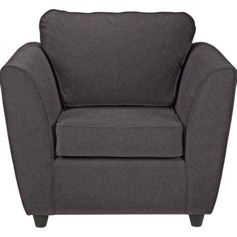 armchairs argos buy home eleanor fabric chair charcoal at argos co uk