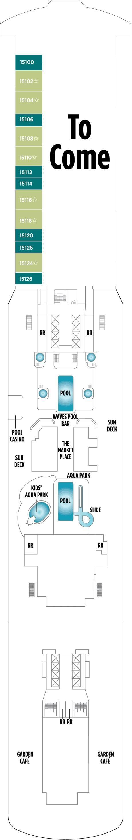 breakaway floor plan norwegian breakaway deck plans cruisekings