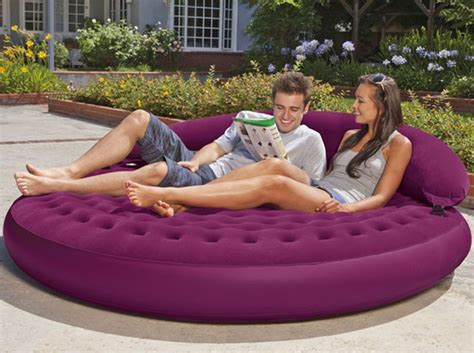 inflatable sofa lounge inflatable lounge goes indoors out