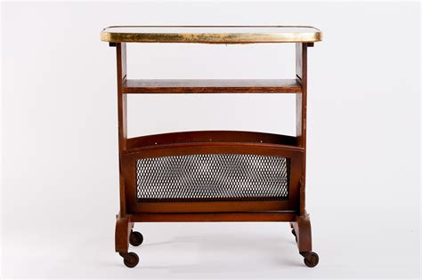 magazine rack with vintage magazine rack trolley with glass top for sale at